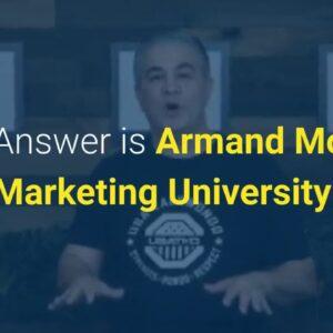 best online marketing courses marketing university armand morin