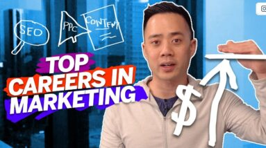 Careers in Marketing - How to Choose a Specialty and Score the Best Salary (2020)