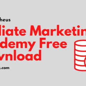 Affiliate Marketing Academy Free Download 2020 - Vick Strizheus