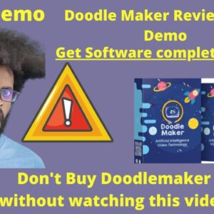 DoodleMaker Review and Demo  Doodle Maker Review of Paul Ponna with Bonus (2020)