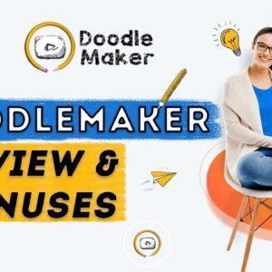 Doodle Maker Review + My BEST BONUS - Doodle Video Creator - Paul Ponna