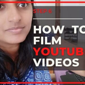 FREE Youtube Marketing Course : Filming Youtube videos