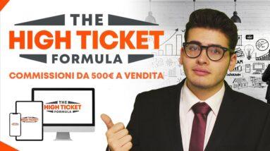 Affiliate Marketing High Ticket cos'è? come iniziare in italia ? è meglio di Amazon nel 2020