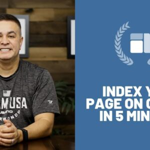 Index Your Page on Google in 5 Minutes