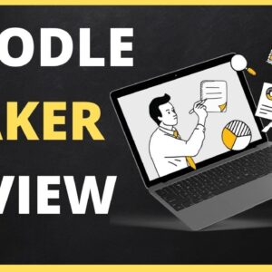 Paul Ponna DOODLE MAKER REVIEW & DEMO WALKTHROUGH  - FREE Doodle Maker Webinar