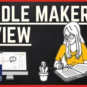 Paul Ponna DOODLE MAKER DEMO  - Is Doodle Maker Good?