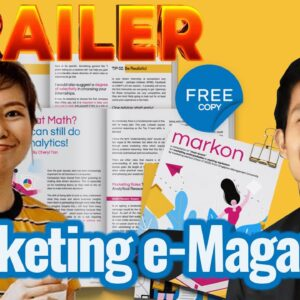 TRAILER: Marketing e-Magazine to help Students get through the World of Marketing