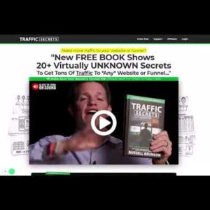 Russell Brunson's Traffic Secrets Book Funnel Hack