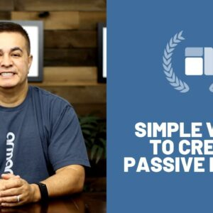Simple Ways To Create Passive Income - #passiveincome