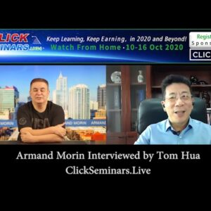Tom Hua Interviews Armand Morin