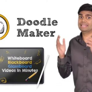DoodleMaker Review   NEW AI Powered Doodle Maker APP   Paul Ponna's Review Of DoodleMaker