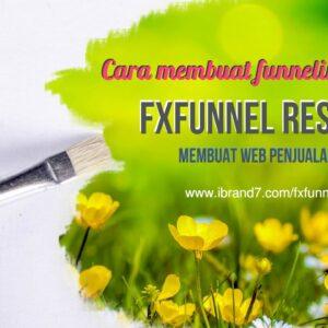 Cara membuat funneling dengan fxfunnel reselling | web penjualan barang