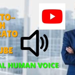 Text Speech Youtube - Best Text To Speech Generator For Youtube Videos (Real Voice) HUMAN VOICE