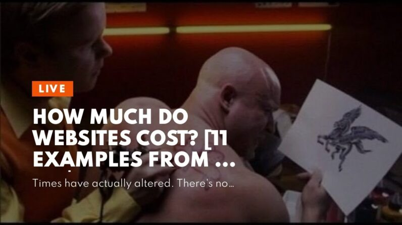 How much do websites cost? [11 examples from $0 to $50k] - The Facts