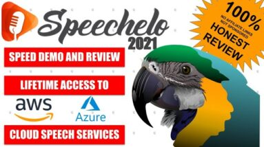 Speechelo - Speed Demo and Review 2021