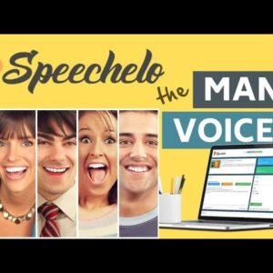 Text to Speech Software - Speechelo The Ultimate Text-To-Speech Engine