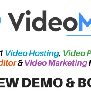 VideoMan Review Demo Bonus - Advanced Video Hosting and Marketing Platform