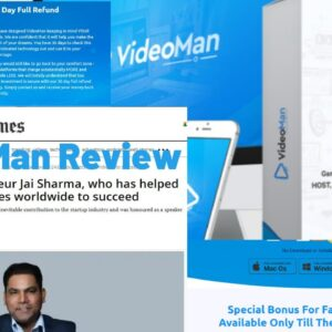 VideoMan Review | VideoMan by Jai Sharma | VideoMan Full Demo and Walkthrough
