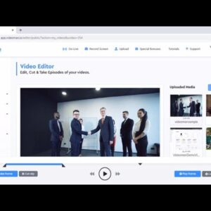 VideoMan Review Demo - Best Online Video Hosting Platform For Small Business