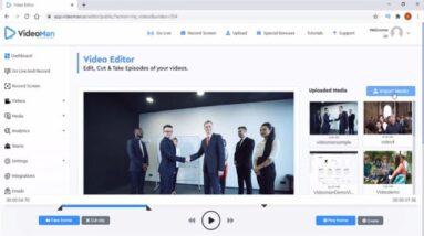 VideoMan Review Demo - Best Online Video Hosting Platform For Small Business