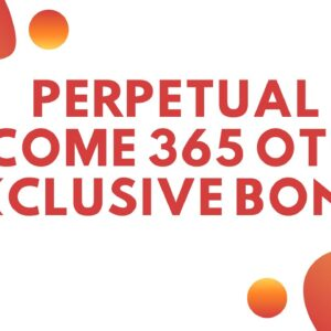 Perpetual Income 365 OTO - Perpetual Income 365 OTOs