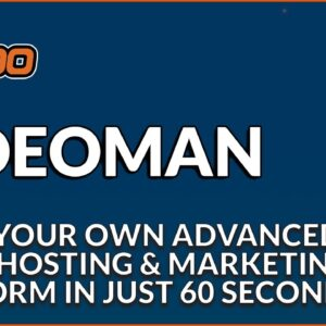 VideoMan - HOST & Stream Lightning Fast Videos with Video Editor, Stock Assets & So Much More ...