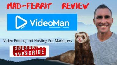 Videoman Review + Bonuses   Advanced VIDEO marketing platform   New video and screenshare software