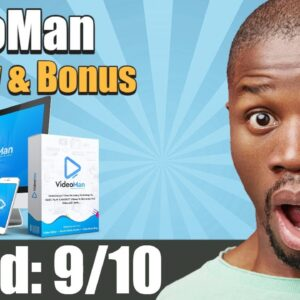 VideoMan Review from Real user and Special Bonus