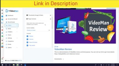 VideoMan Review -VideoMan - The Most Complete Video Marketing Solution
