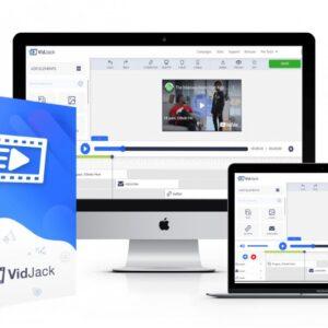 Vidjack Software Demo 2021- Legally Hijacks & Turns Any Youtube & Vimeo Video Into A Profit
