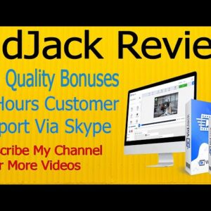 VidJack Review 🙉Get My Premium Bonuses🙉Ali Reviews