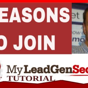 My Lead Gen Secret Review 2021 - 6 Reasons To Join My Lead Gen Secret