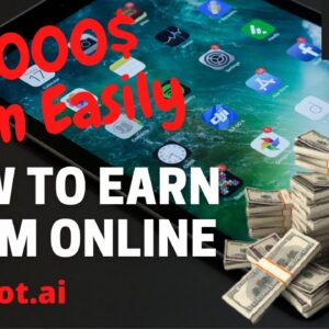 Earn Money Online $1000 from New Earning Website TextBot.ai | Work from home jobs, PayPal