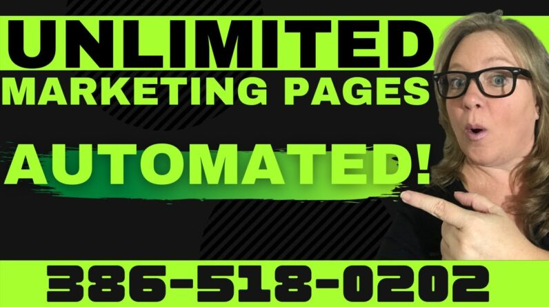 Textbot AI 2021 | How to Create UNLIMITED Landing Pages with Nowsite Marketing