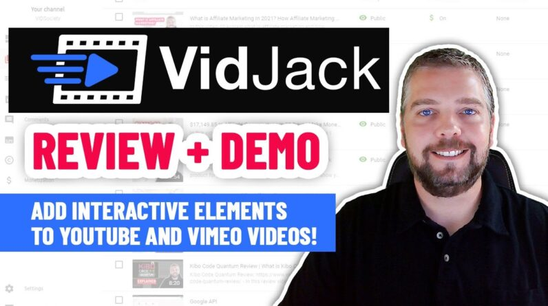 VidJack Review & Demo | Add CTA's To Videos With VidJack