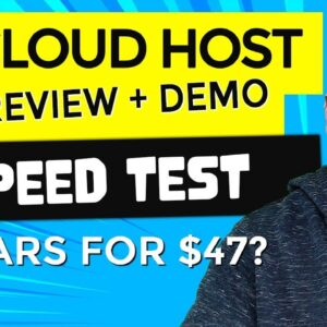 5 Cloud Host Review + WordPress Speed [INSANE]