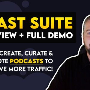 bCast Suite Review + Full Demo With Bonuses | Podcasting With bCast Suite