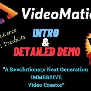 ✌️📹 ''VIDEO MATIC'' Intro & Detailed Demo + 7 FREE Reseller Licence Product + Bonuses 📹🎁🎁🔎