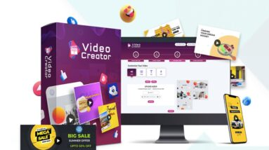 VideoCreator Commercial (Unlimited) by Paul Ponna & Sid Diwar | Build Word-Class Animated Video