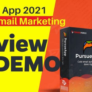 ✅PursueApp Review 2021 and Demo 🔥🔥🔥 No1 Cold Email Marketing App