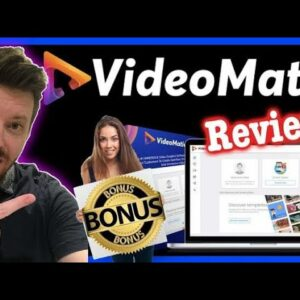 VideoMatic Review From Real User🙋🏻♂️  Don't Buy🚫 Video Matic without my Bonus🎁 #VideoMaticReview