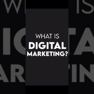 What is Digital Marketing? | Online Marketing | Internet Marketing | Business Strategy #shorts