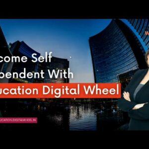 Make 30k to 50k per month // Digital marketing course // Education digital wheel // Vishal ron /2021