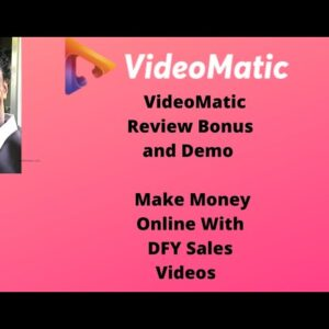 Videomatic Review Bonus And Demo |  Make Money Online With Dfy Sales Videos 1 💥  CUSTOM 💥  BONUSES