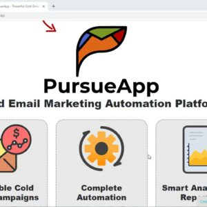 PursueApp Detailed Review With All Features!!! (Email Marketing Software)