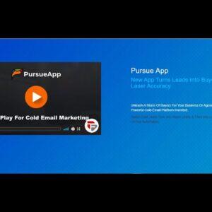 PursueApp Sales Video