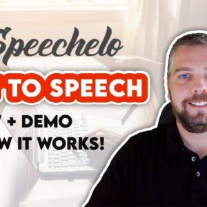 Speechelo Review: Speechelo Text To Speech (TTS) Software