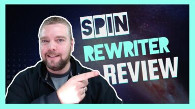 Spin Rewriter Review   Spin Rewriter 10 Tutorial and Demo
