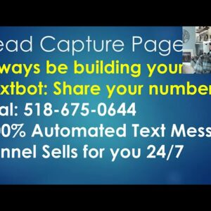 TextBot Affiliate Marketing 101 Basic Training that Makes You Sales