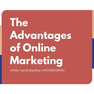 The Advantages of Online Marketing